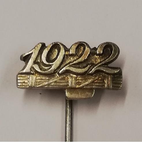 1922 - Anno d'Iscrizione al PNF...