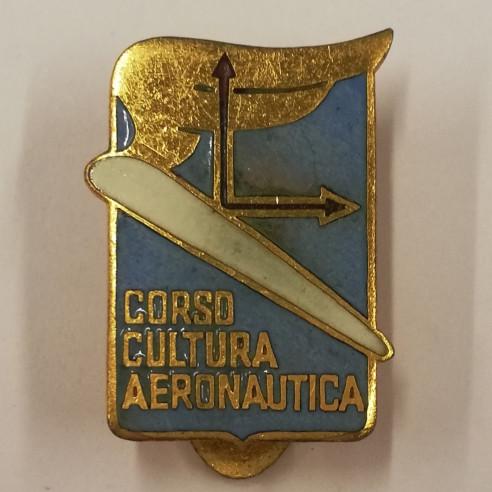 DISTINTIVO CORSO CULTURA AERONAUTICA...