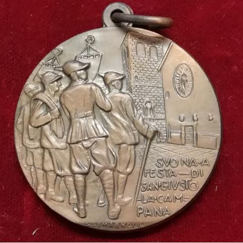 1930 Medaglia Adunata - Trieste