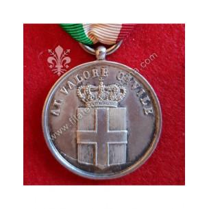 Medaglia in argento Al...