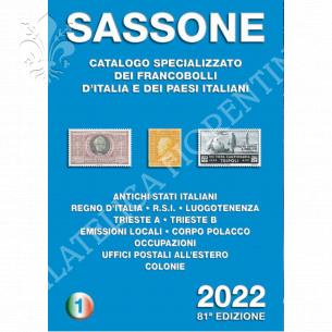 Catalogo SASSONE Vol. 1