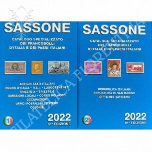 Catalogo SASSONE -  Vol.1 e...
