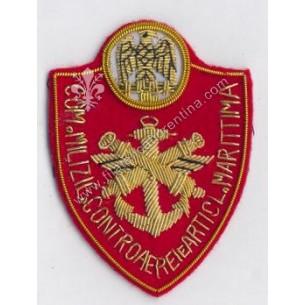 Distintivo del Com. Milizie...