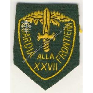Distintivo dell XXVII...