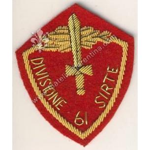 Distintivo Divisione 61 Sirte