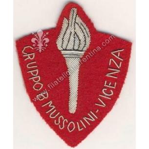 Gruppo B Mussolini - Vicenza