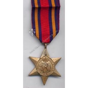 "Medaglia ""  The Burma Star..."