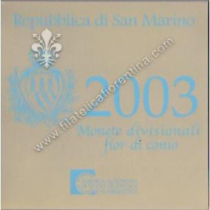 Serie divisionale 2003