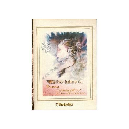 """Folder n. 01 """" LA DONNA NELL'ARTE """" 1999"""