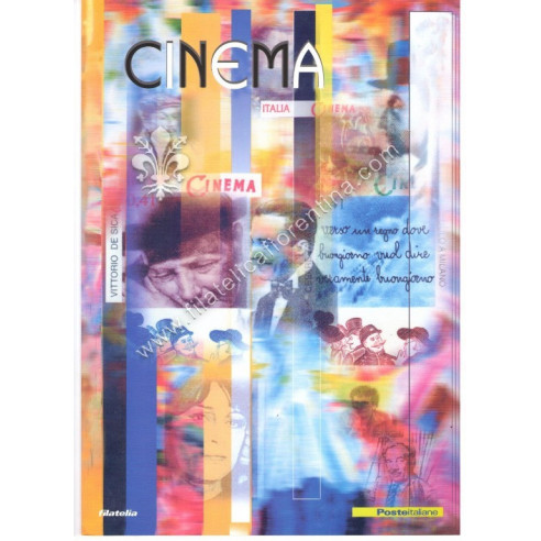 "Folder n. 38 "" CINEMA "" 2002"