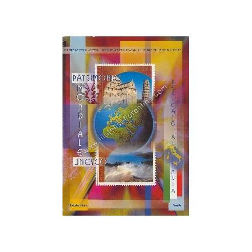 """Folder n.44 """" UNESCO Italia """" 2002"""