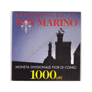 1000 lire in confezione...