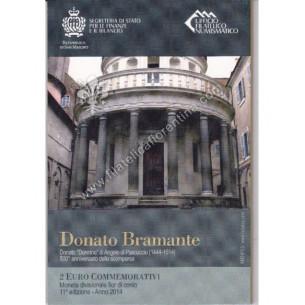 2€ Donato Bramante 2014
