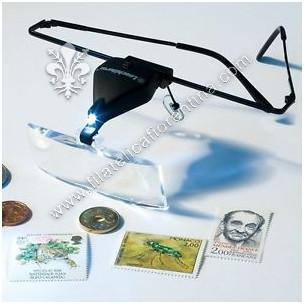 Lente ad occhiali con LED...