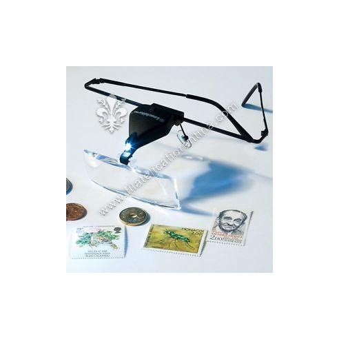 Lente ad occhiali con LED 1.5-3.5x