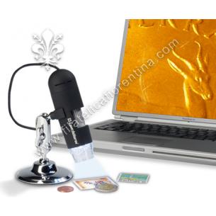 Microscopio USB 200x