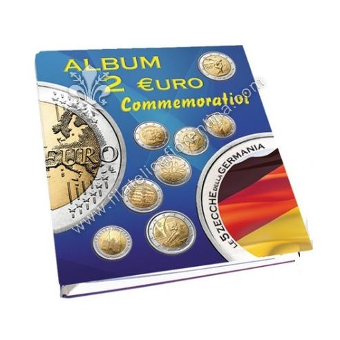 Album 2 Euro commemorativi - 5 ZECCHE...