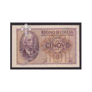 REGNO D'ITALIA Banconota...