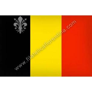 BELGIO - Euro flag bandiere...