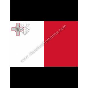 MALTA - Euro flag bandiere...