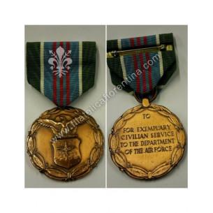 Award Medal for Exemplary...