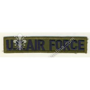 """Scritta """"US. AIR FORCE"""" blu..."""