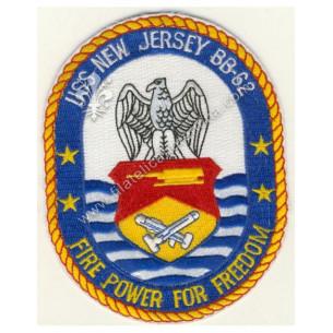 """USS NEW JERSEY BB-62 """" Fire..."""