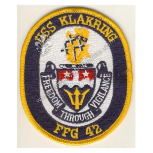 """USS KLAKRING FFG 42 """"..."""