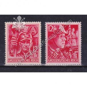 Emissione di 2 francobolli...