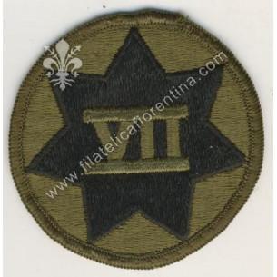 7° Corps - nero su verde da...