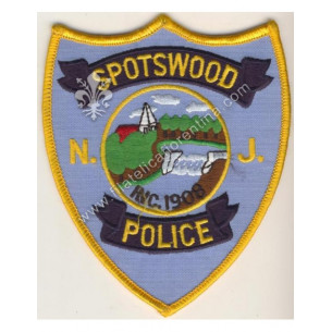 Spotswood Police New Jersey...
