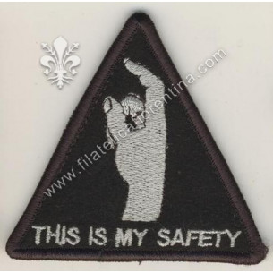 THIS IS MY SAFETY MORALE PATCH