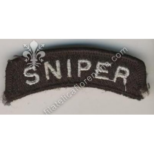 Sniper Tab (bianco su nero)