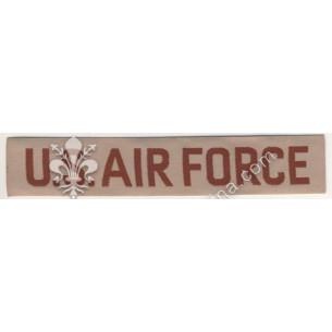 """Scritta """"Air Force"""" marrone..."""