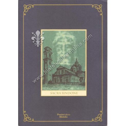 """Folder n. 16 """"Sacra Sindone"""" 2000"""