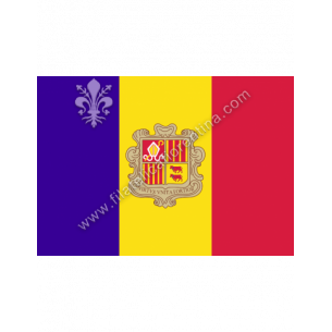 ANDORRA - Euro flag...