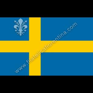 SVEZIA - Euro flag bandiere...
